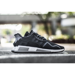 ADIDAS : EQT CUSHION ADV CORE BLACK WHITE (BLACK) BY9506