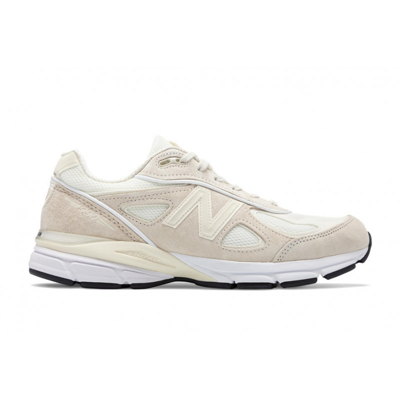 "NEW BALANCE X STÜSSY : 990v4 ""CREAM WHITE"""