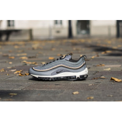 NIKE : AIR MAX 97 PREMIUM WOOL COOL GREY