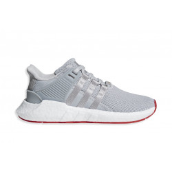 "ADIDAS EQT SUPPORT 93/17 ""MATTE SILVER/RED"""