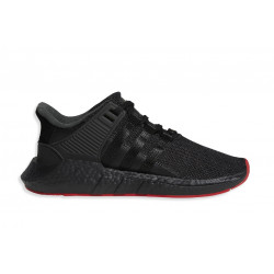"ADIDAS : EQT SUPPORT 93/17 ""BLACK/RED"""