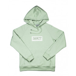 "IMPACT HOODIE ""GREEN LILY"""