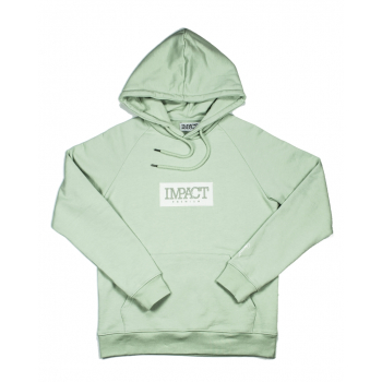 "IMPACT : HOODIE ""GREEN LILY"""