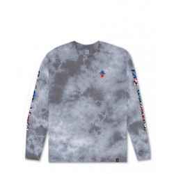 HUF : FOURTH STAR SPANGLED BUMMER LONG SLEEVE TEE