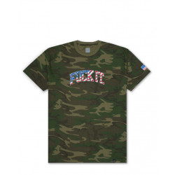 HUF : FOURTH FUCK IT CAMO FLAG