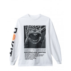 PLEASURES X ROKIT REGULATIONS LONG SLEEVE TEE