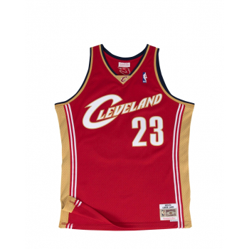 MITCHELL & NESS : JAMES CAVALIERS 2003-04 SWINGMAN JERSEY