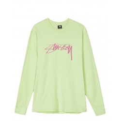 STÜSSY : SMOOTH STOCK LONG SLEEVE TEE