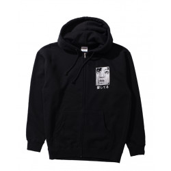 PLEASURES LONESOME AGAIN ZIP HOODY