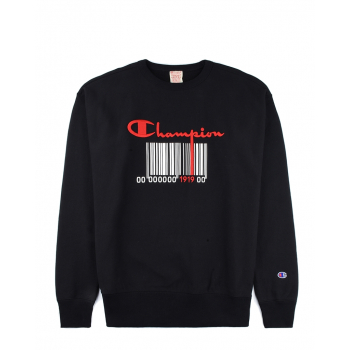 CHAMPION : BARCODE CREWNECK SWEAT