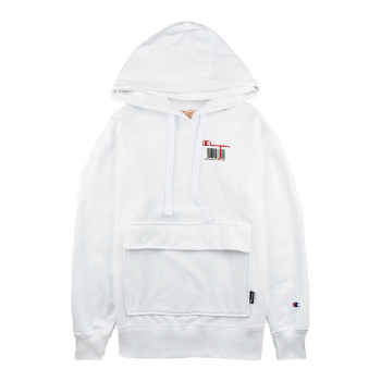 CHAMPION : BARCODE HOODED SWEAT