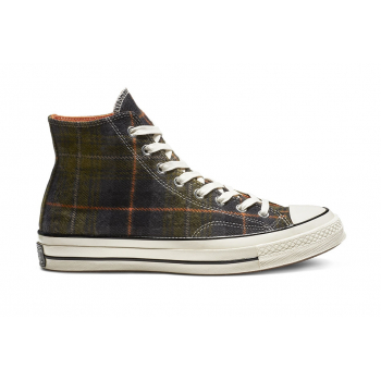 CONVERSE : CHUCK TAYLOR '70 ELEVATED PLAID HI