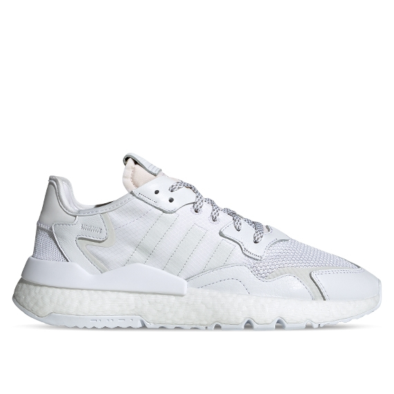 adidas nite jogger homme blanche