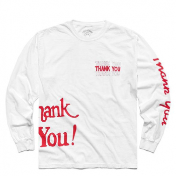 CHINATOWN MARKET : THANK YOU ALL OVER LONG SLEEVE TEE