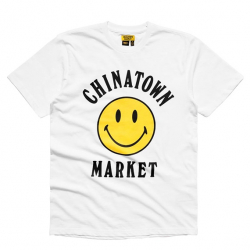 CHINATOWN MARKET : SMILEY LOGO TEE