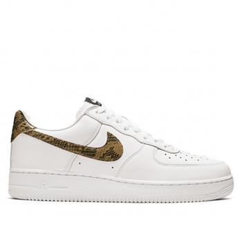 NIKE : AIR FORCE 1 LOW PRM QS IVORY SNAKE