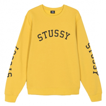 STÜSSY : TRIPLE ARC CREWNECK