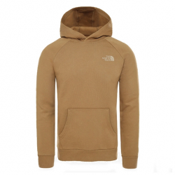 THE NORTH FACE HOODIE RAGLAN REDBOX
