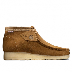 CLARKS ORIGINALS X CARHARTT W.I.P : WALLABEE
