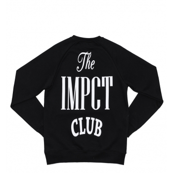 "IMPACT CLUB CREWNECK ""BLACK"""