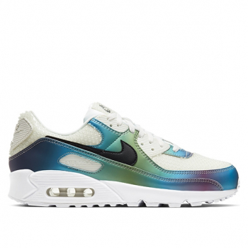 NIKE : AIR MAX 90 BUBBLE IRIDESCENT