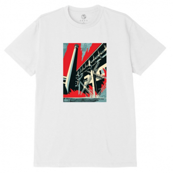 OBEY : FOSSIL FACTORY SUSTAINBLE TEE