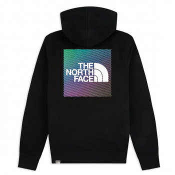 THE NORTH FACE : GRAPHIC RAINBOW HOODIE
