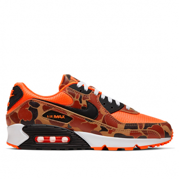 NIKE : AIR MAX 90 SP DUCK CAMO ORANGE