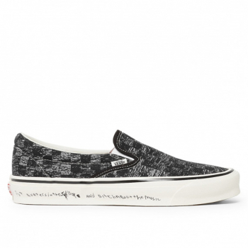 VANS : VAULT X JIM GOLDBERG CLASSIC SLIP-ON LX