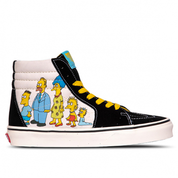 VANS X THE SIMPSONS : SK8-HI 1987-2020
