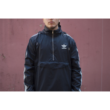 "ADIDAS : MODERN WINDBREAKER ""BLUE"""