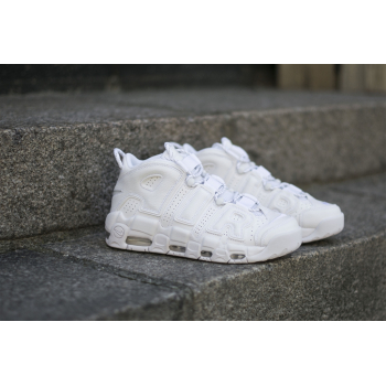 "NIKE : AIR MORE UPTEMPO ""WHITE"""