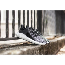 "ADIDAS : EQT SUPPORT 93/17 ""BLACK/WHITE"""