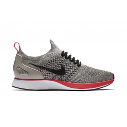 "NIKE : WMNS AIR ZOOM MARIAH FLYKNIT RACER ""STRING/GREY/BLACK/RED"""