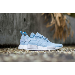 "ADIDAS : NMD_R1 PK W ""ICE BLUE/WHITE"""